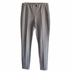 Intro Black & White Print Pants S